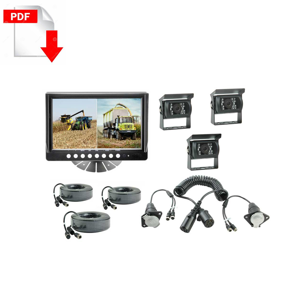 9-inches-Quad-monitor-Cameras-system-kit