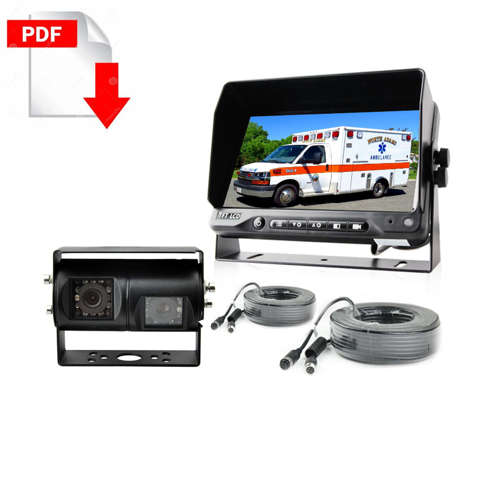 Ambulance Backup camera system