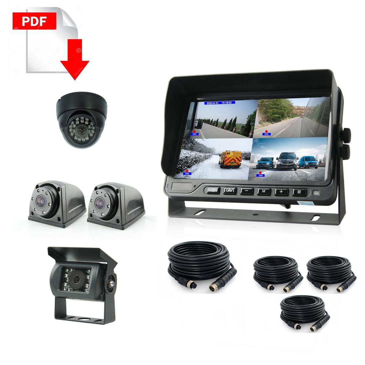 Ambulance DVR-camera-system