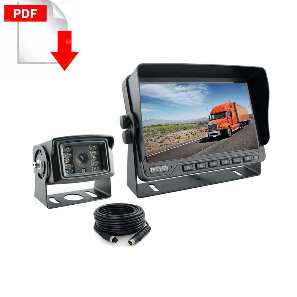 Kysail Truck Rear view camera system kit