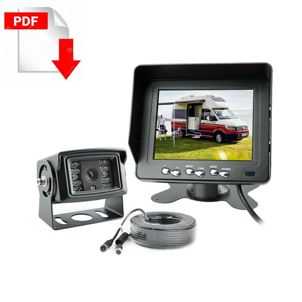 Motorhome- Rear View camera System