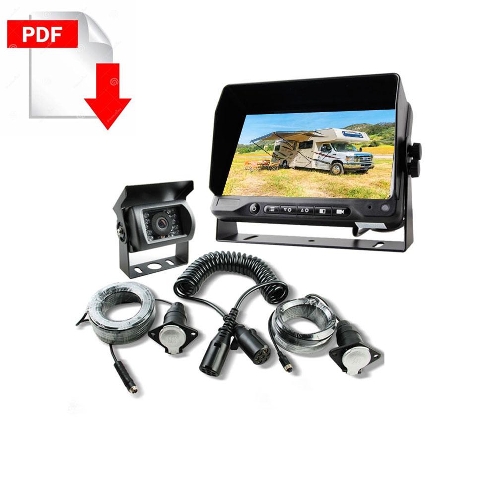 RV Trailer-camera-system