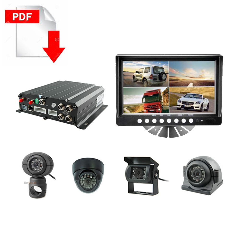 Truck MDVR CCTV Camera system