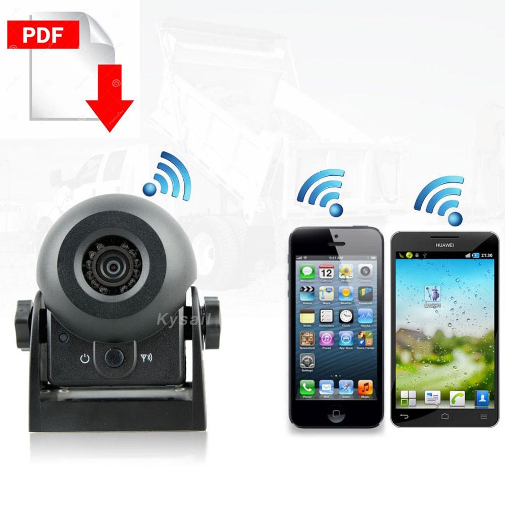 WIFI Rear view Camera for RV Motorhome