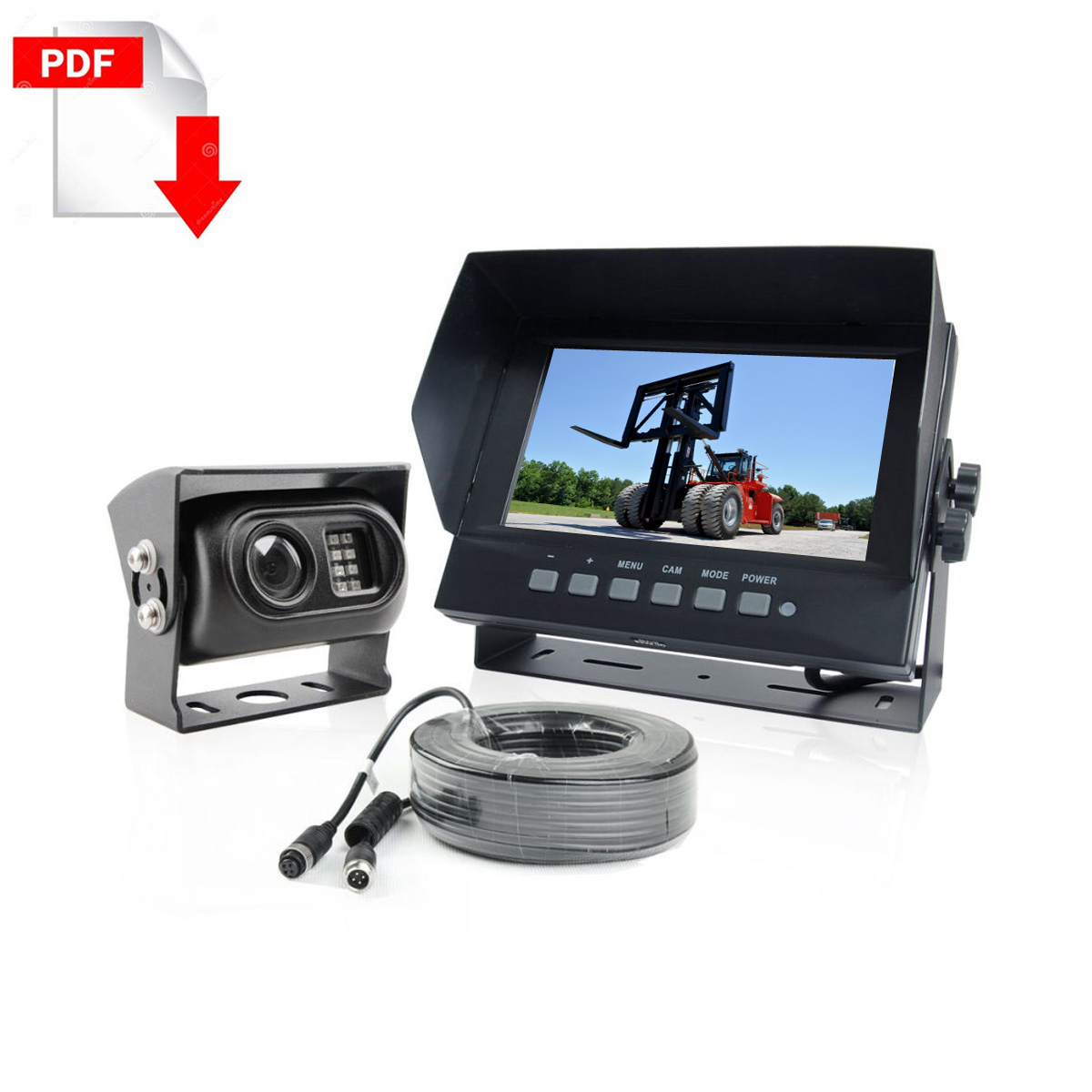 forklift Rear view camera System
