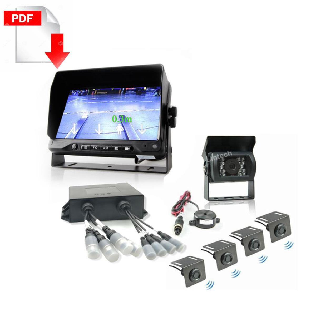 forklift-parking-sensor Camera System